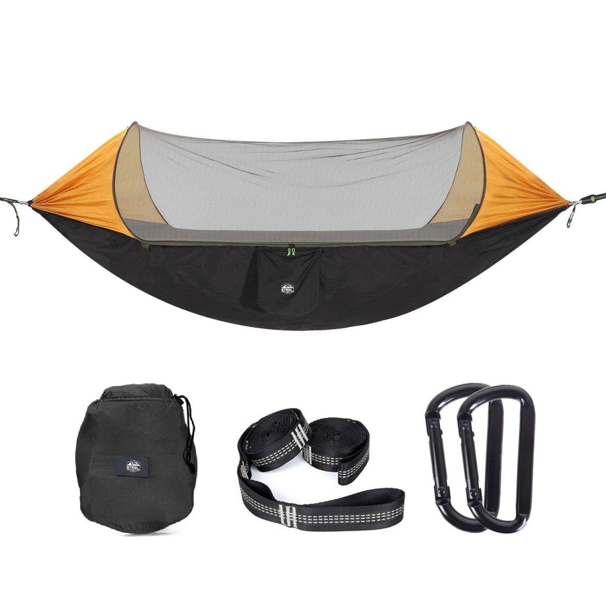 Best Portable Parachute Hammocks for Hiking or Backyard Relaxation Northbound Train Camping Hammock with Tree Straps Beach Fun