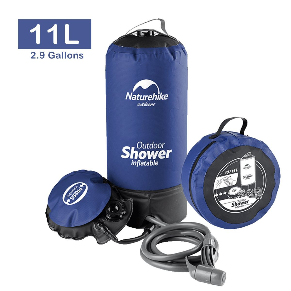 amazon sports solar coleman dp ca gallon the outdoors shower company bag